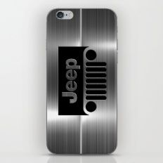 jeep logo iPhone & iPod Skin