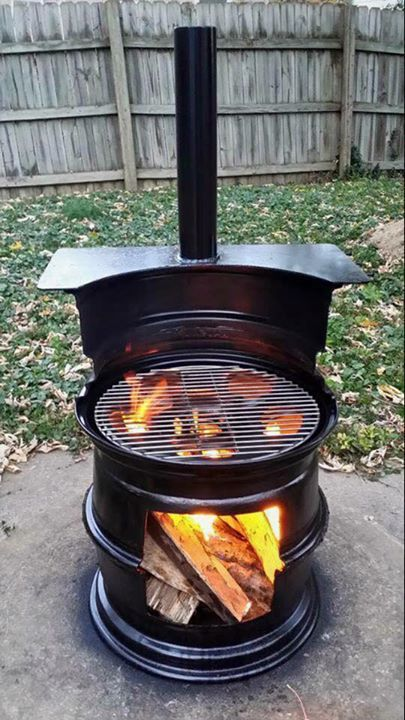sweeet wood burner project!