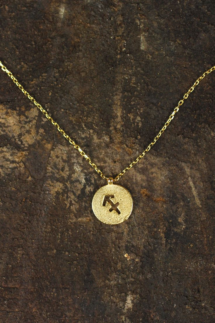 Sagittarius Charm Necklace