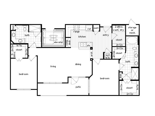 Apartment Floor Plans 2 Bedroom: 22 Best 36Sixty Images On Pinterest