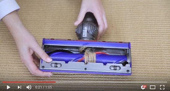 DYSON | V8 - Ripristino Spazzola Direct Drive [video] - http://www.complementooggetto.eu/wordpress/dyson-v8-ripristino-spazzola-direct-drive/