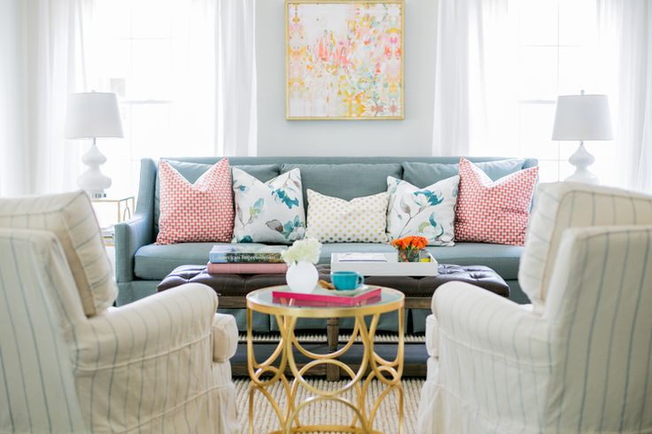 this is how to do color!Bek Design, Living Rooms, Budget Decor, Colors Palettes, End Tables, Pastel Colors, Jana Bek, House, Darlson3 Jpg