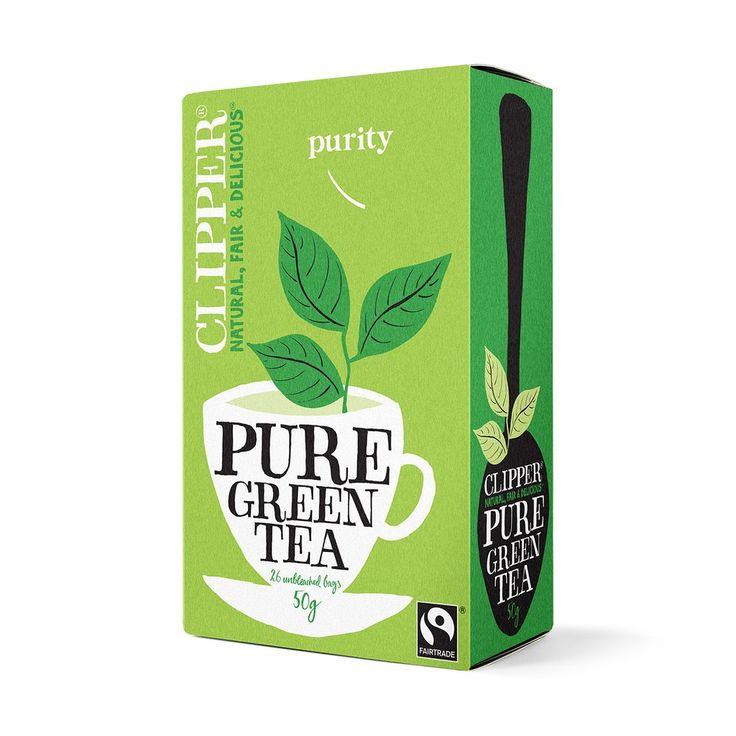 Fairtrade Pure Green Tea 26 bags