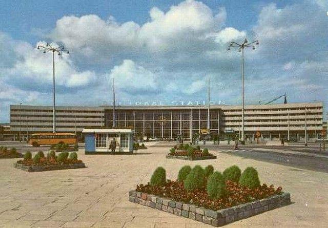 station Rotterdam Centraal stationsgebouw III (1960)
