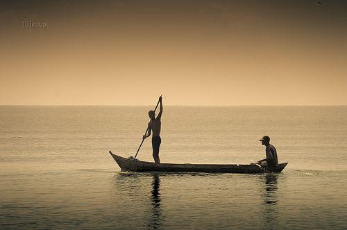 Pescadores en las Islas del Rosario (Colombia) by dleiva, via Flickr