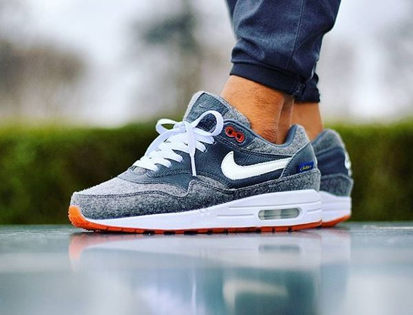 Nike Air Max 1 ID Orange Pendleton @sjoemie84 | Running
