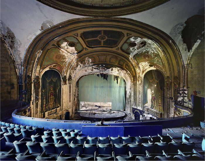 The Ruins of Detroit by French photographers Yves Marchand and Romain Meffre.