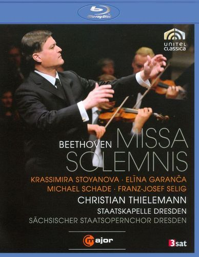 Christian Thielemann/Staatskapelle Dresden: Beethoven - Missa Solemnis [Blu-ray] [2010]