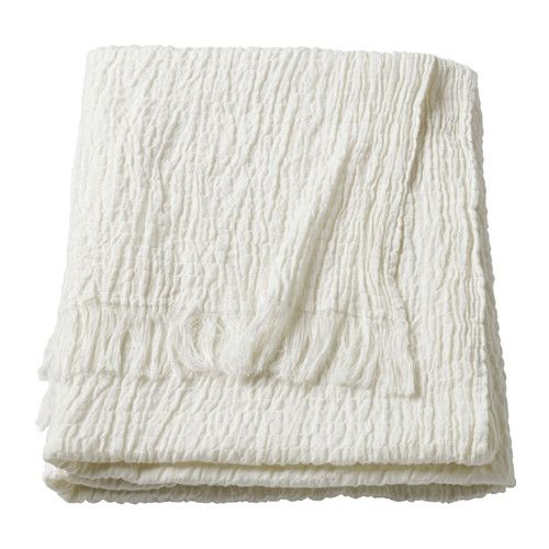 MATHEA Throw IKEA Can be used as bedspread for a single bed or as a large blanket.