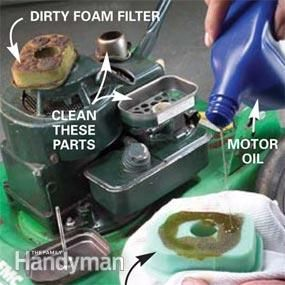 Mower Tune-Up | The Family Handyman