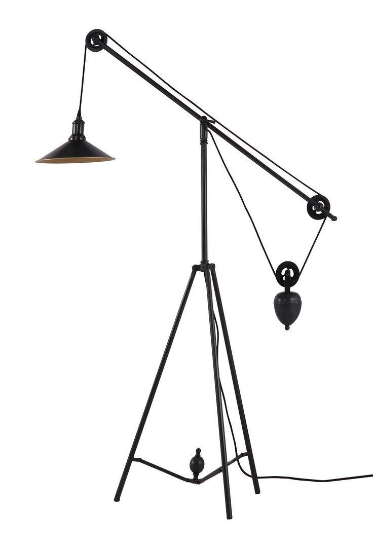 The Chester Floor Lamp   Industrial Styled Weighted Contemporary Floor Lamp  Http://www
