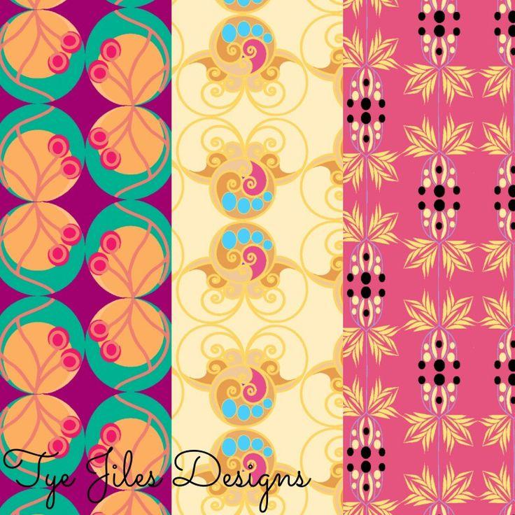 Pattern design by Tye Jiles #surfacepatterndesign #surfacedesign #patterns #patterndesign #fabric #art #artlicensing #printandpattern #textiledesign #textiles #design #illustration #textileart #wallpaper #fabric #fashion