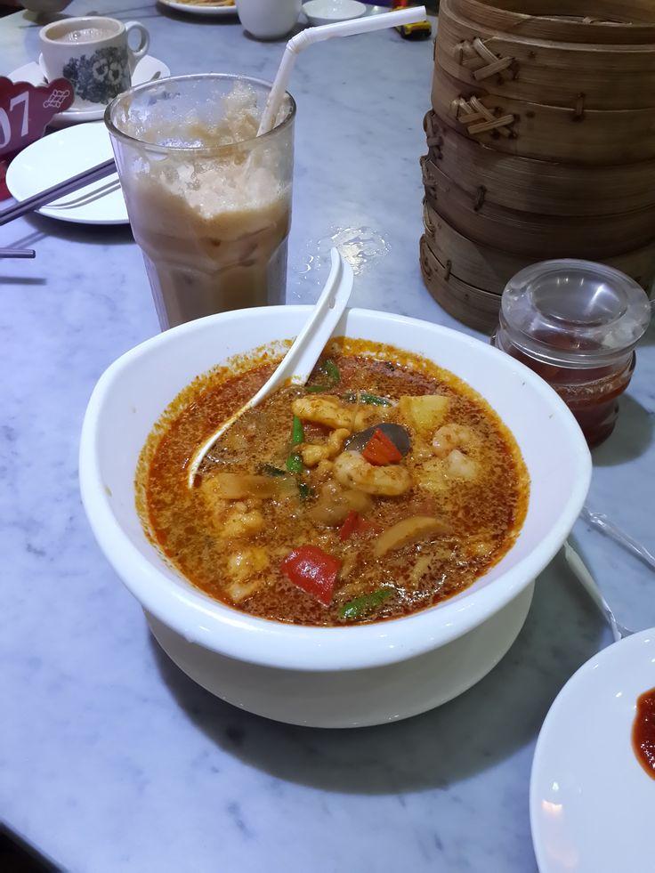 Tom Yam Seafood Noodles