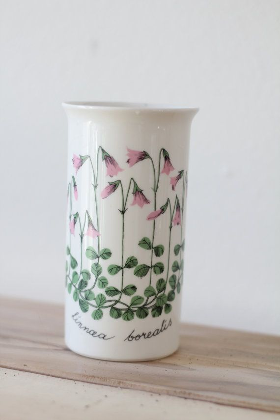 Vintage 1960s Finish Design Vase / Linnea by WildPoppyGoods for Linne