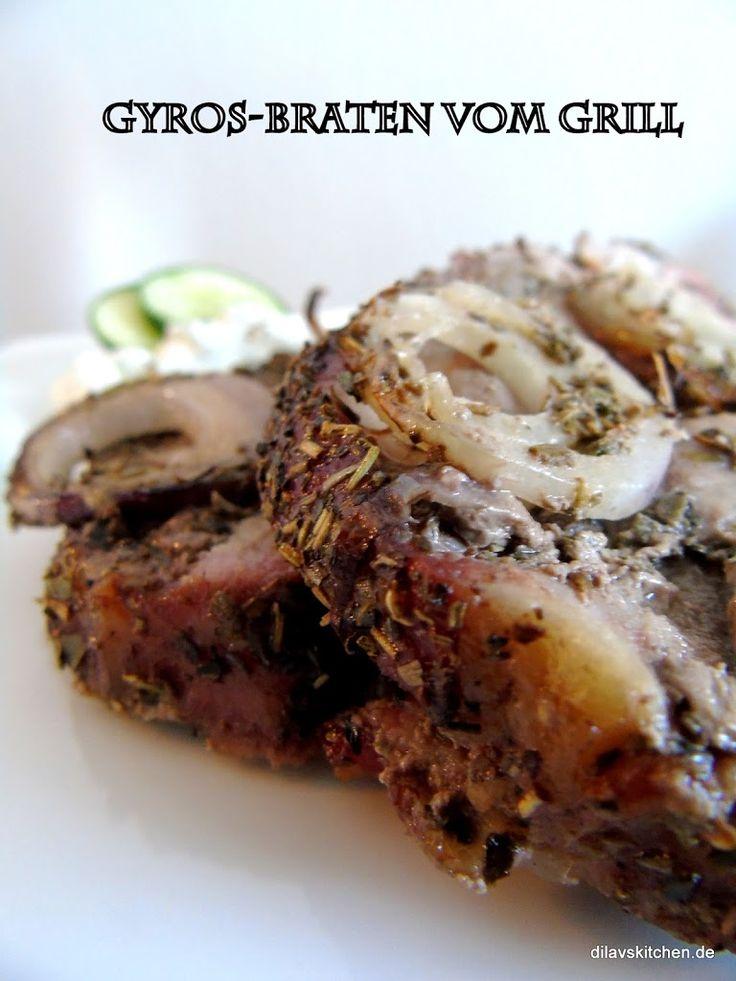 Ob vom Grill oder aus dem Ofen, Gyros-Braten schmeckt immer - und geht total einfach!