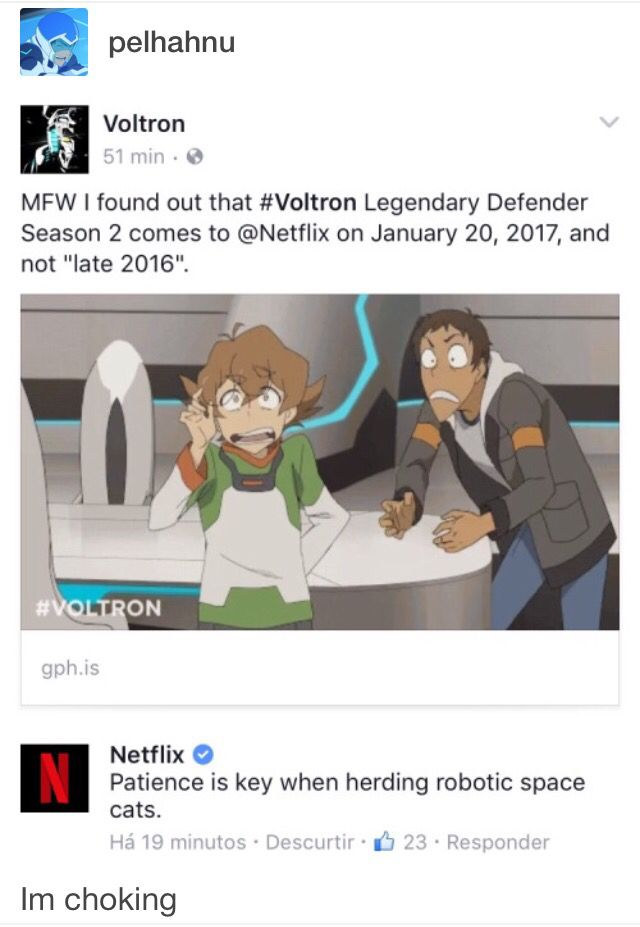 I AM SO MAD THE LAST EPISODE WAS A CLIFT HANGERRRRR WHYYYYYY MSUT YOU DO THIS TO ME! I NEED SOME MORE KLANCE NOW TO MAKE ME HAPPY