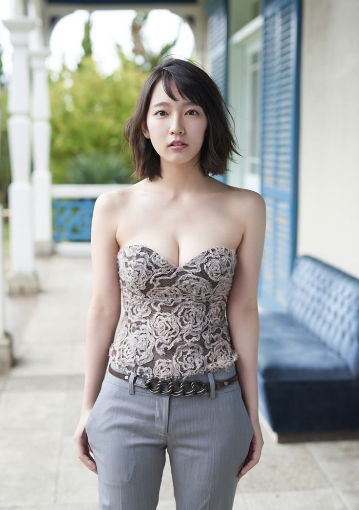 Yoshioka Riho / 吉岡里帆 on Weekly Playboy Extra