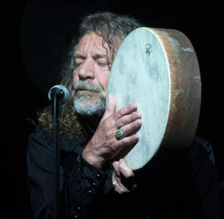 Robert Plant with his band The Sensational Space Shifters at The Depot in Salt Lake City on Wednesday. (Steve Griffin  |  The Salt Lake Tribune)