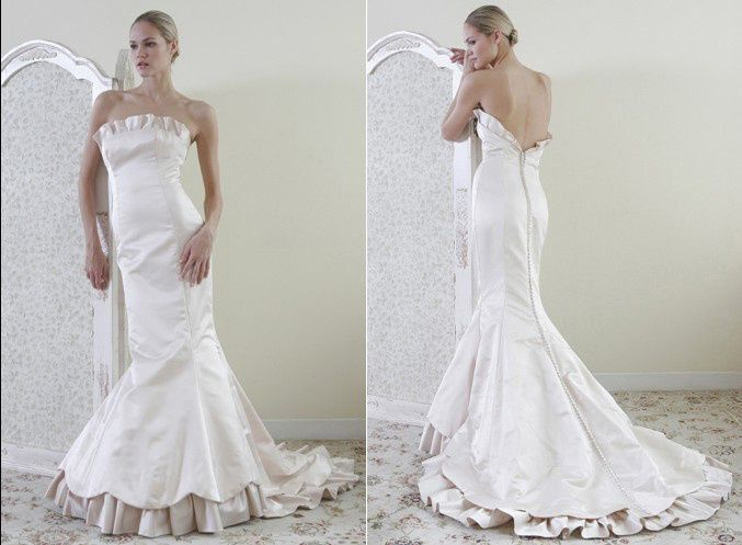 23 best Wedding Clothing images on Pinterest | Short wedding gowns ...