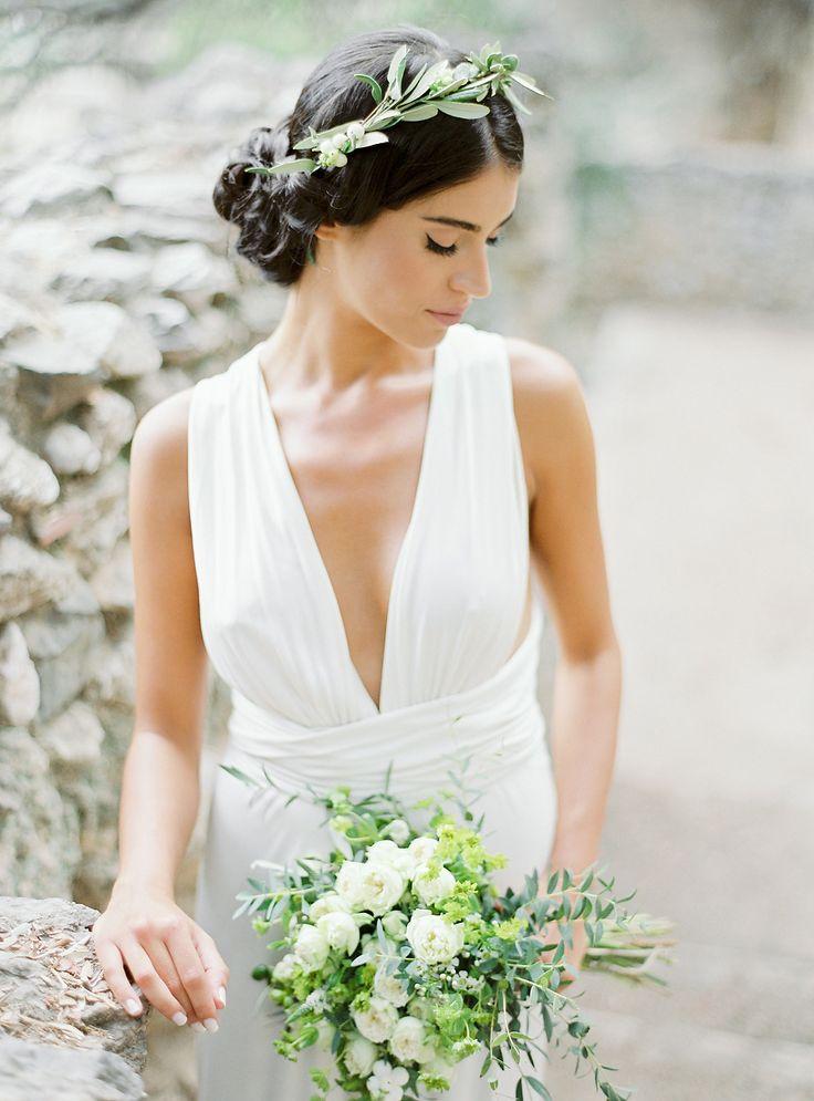 Photography : Sotiris Tsakanikas | Wedding Dress : Parthenis | Floral Design : Red Box Days Read More on SMP: http://www.stylemepretty.com/destination-weddings/2017/01/20/wedding-inspiration-that-will-light-a-fire-under-your-wanderlust/