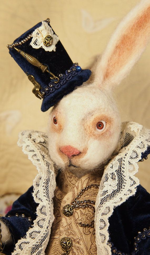 Alice in Wondeland Rabbit Alice's Adventures in by TheUnderWonder