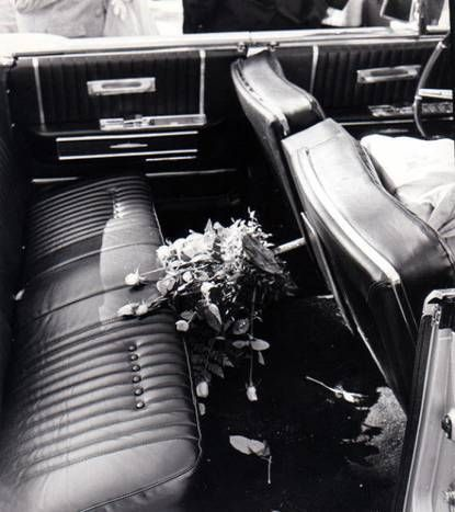 """It was a car full of yellow roses, red roses and blood, and it was all over us,"" Texas first lady Nellie Connally recalled about the presidential limousine years after the assassination. Her husband, Gov. John Connally, was seriously wounded in the attack."