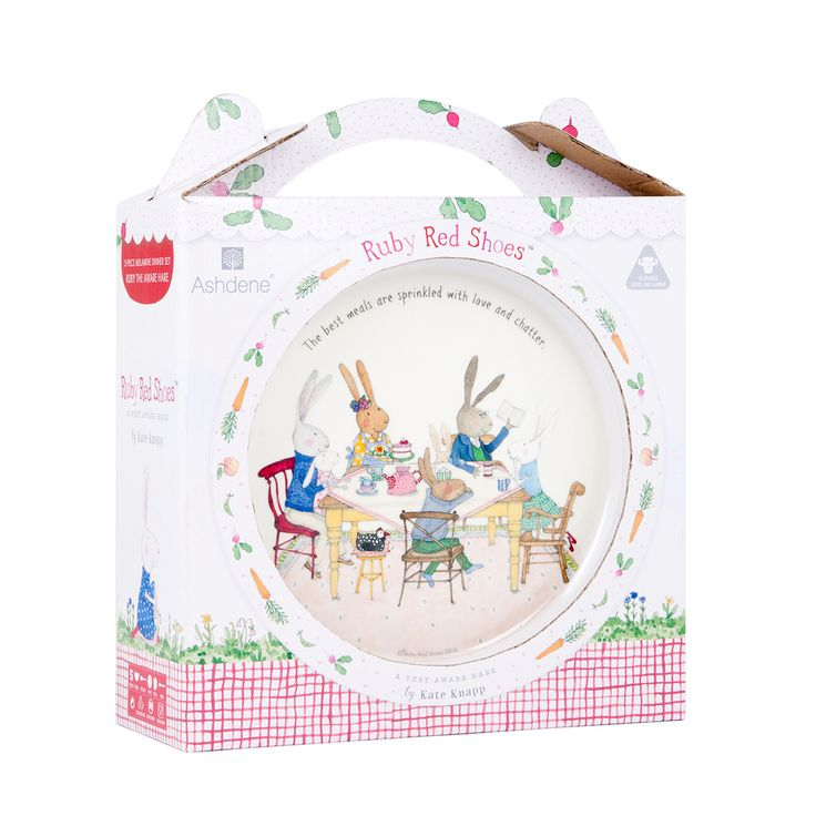 Ruby Red Shoes Kids 5 Piece Dinner Set | Pillow Talk