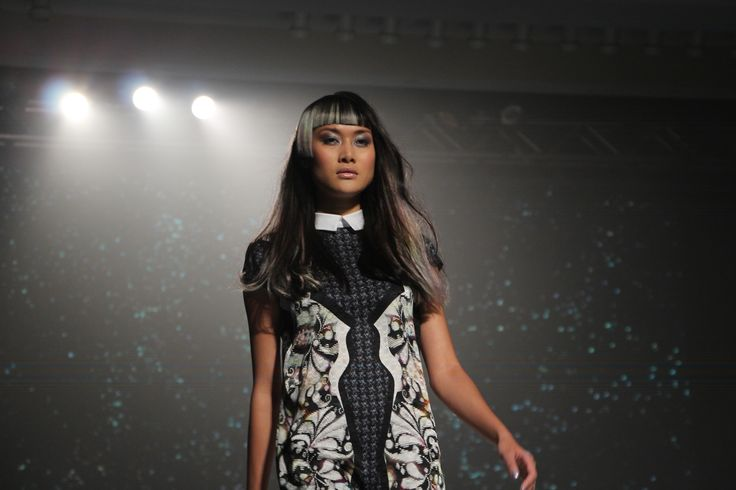 Another Angelo Seminara creation from #COLOR2013! Styles enhanced with More Inside & PURE Colours.