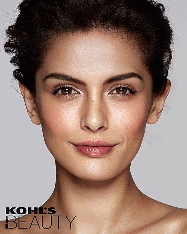 @veena_martini  for @kohls #beauty #makeup #Skin #glo #love ❤️ @gavinoneillphoto @felixfischerhair @anton_414 @wilhelminamodels @judycaseyinc