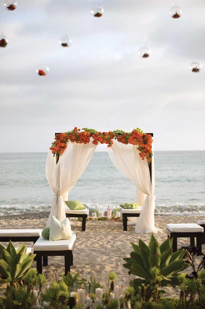 beach weddings in orange county ca%0A Beach Chic  love this casual  modern setting  California BeachCalifornia  WeddingBeach Wedding InspirationWedding
