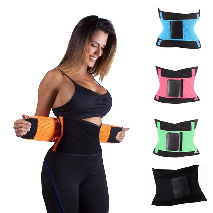 High Quality Trainer Waist Cincher Workout Belt For Women Men Body Waist Trainer Vest Shapers Plus Size Fitness Modeling Strap