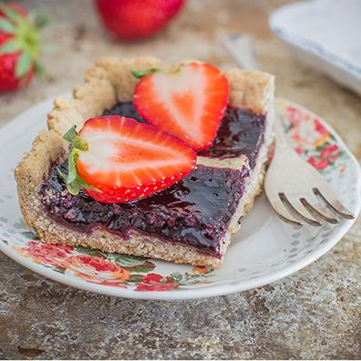 Blog | Ricette | Crostata vegan al grano saraceno  | Sarchio - prodotti Biologici, alimenti Senza Glutine e Integratori Alimentari