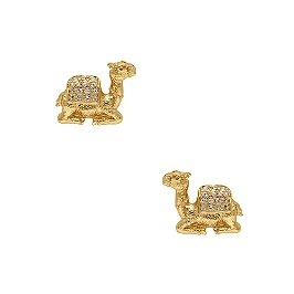 These camel earrings are elegant but cute at the same time they are great for casual walks or a fancy gala for charities