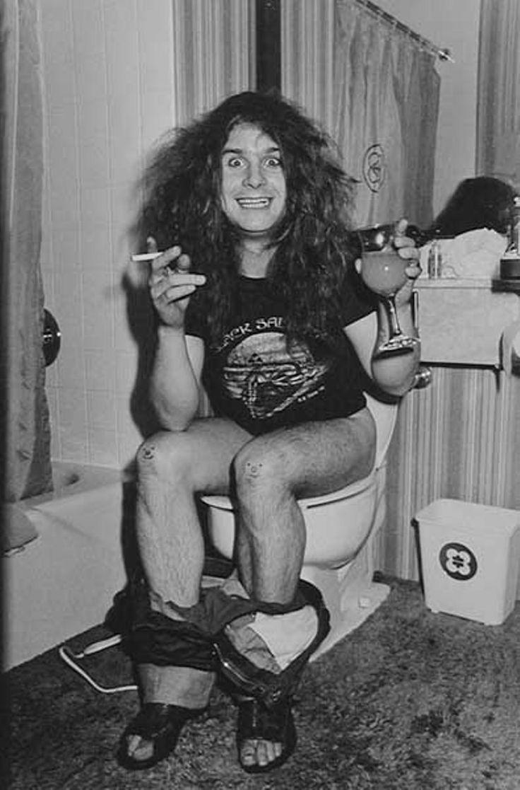 Ozzy Osbourne, Black Sabbath Tour in Chicago, 1978.