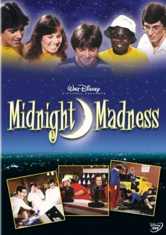 Some fun trivia about Disney's Midnight Madness. The movie is about a college scavenger hunt with teams representing the common stereotypes: jocks, nerds,