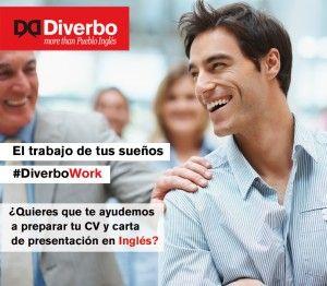 ¿Quieres que te ayudemos a preparar tu CV y carta de presentación en inglés? Apúntate a #DiverboWORK