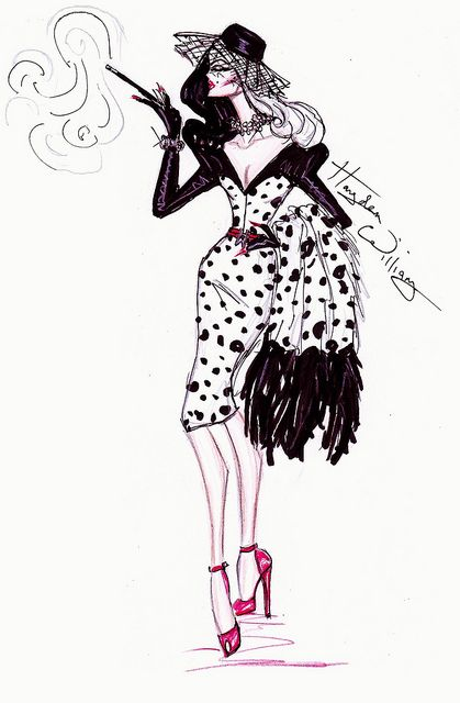 ‎'Disney Villainess' collection by Hayden Williams - Cruella de Vil by Fashion_Luva, via Flickr