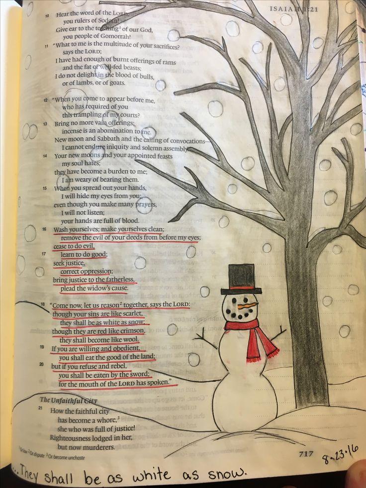 Isaiah 1:18 White as snow                                                       …