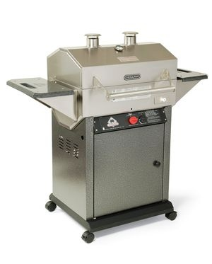 Holland Grill - Made in the USA - built in indirect heat grilling which is great with tomato-based BBQ sauces!