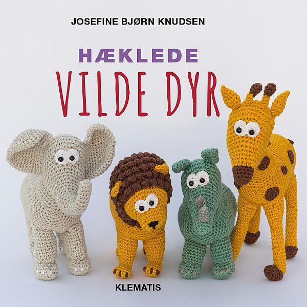 Hæklede vilde dyr - Forlaget Klematis A/S