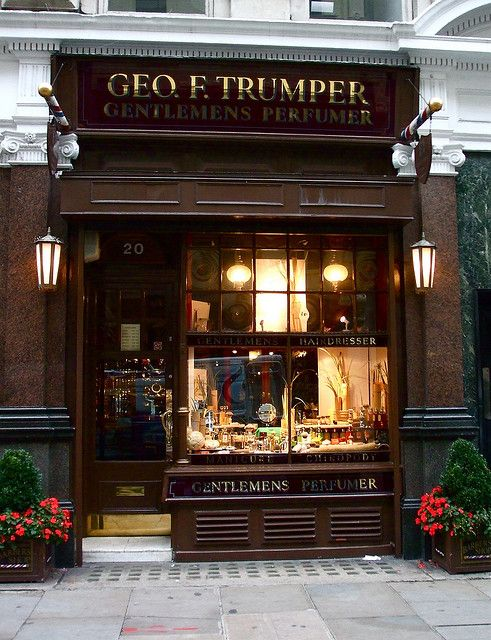 Geo F. Trumper, Barber Shop and Perfumers, Jermyn Street, London SW1 by World of Good, via Flickr