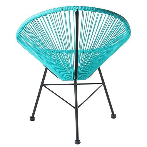 Design Tree Home Acapulco Lounge Chair, Blue. Patio ChairsLounge ChairsModern  PatioMidcentury ...
