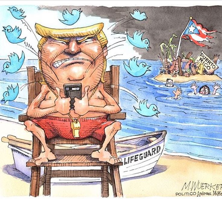 Trump and his Supporters don't look at Puerto Ricans as Americans. Look how long it's taken to get those poor souls help after Total Devastation from a Hurricane. People in need of Water, Food, Medical Care and it's taken well over a week for Washington to respond.....Unlike Texas and Florida!