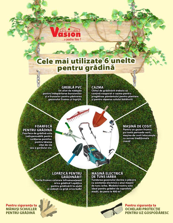 Cum să ai o grădina de vis? Cu uneltele potrivite!