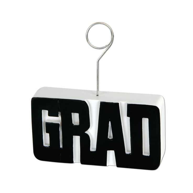 Graduation Photo/Balloon Holder