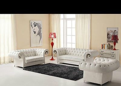 Chic-Modern-Design-8318-White-Sofa-Set-Contemporary-Style