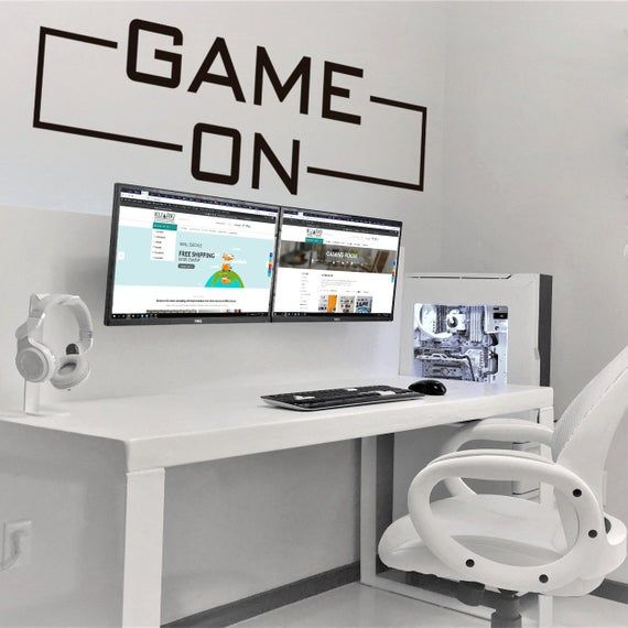 Game On Gamer Wall Decals