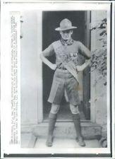1966 Spartanburg South Carolina Gen William Westmoreland as Scout Wire Photo