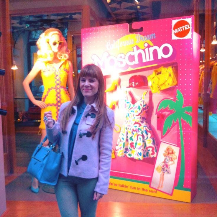 moschino window Milano 2015