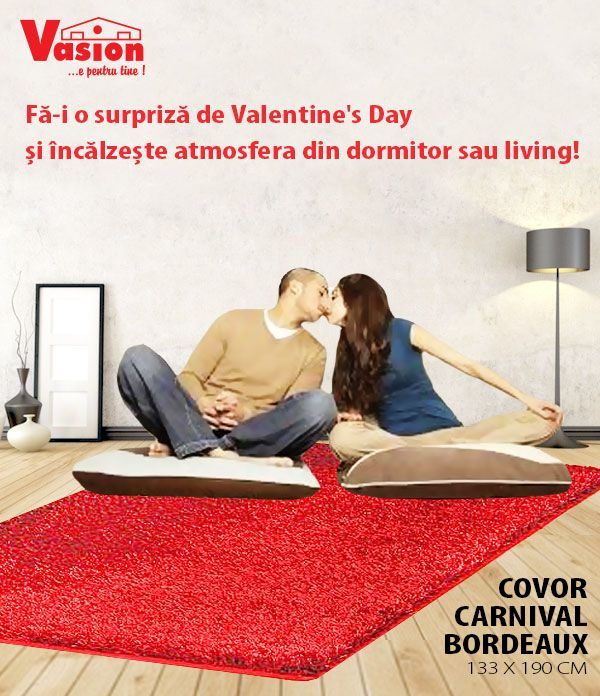 O surpriza este oricand binevenita! De Valentine's Day sau cu orice ocazie, suprinde-o cu un nou decor!